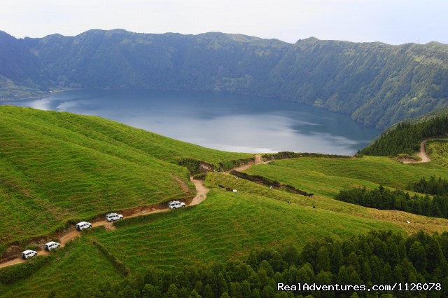 - Jeep Safari, Guided Tours,  S.Miguel, Azores