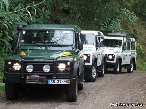 Jeep Safari, Guided Tours,  S.Miguel, Azores Jeep Tours, S.Miguel - Azores