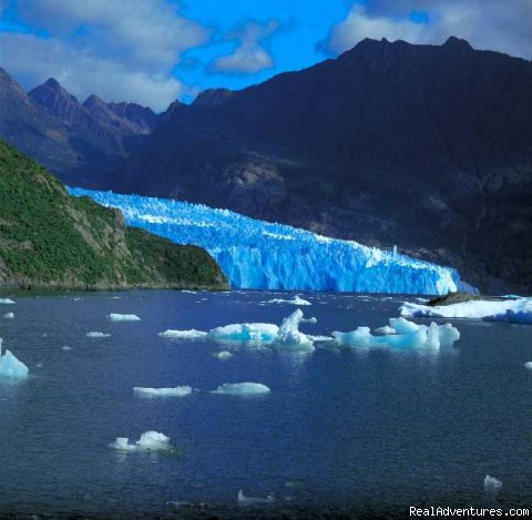 LAGOON SAN RAFAEL (#3 of 4) - Patagonian-desert-island In Chile