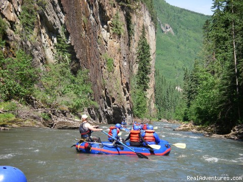 Alberta's Best Rafting at Wild Blue Yonder: Family Rafting on the Sulphur