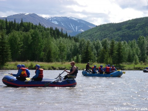 Enjoying the Rockies - Alberta's Best Rafting at Wild Blue Yonder