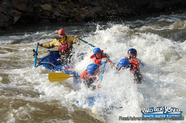 Braving the rapids of Sheep Creek (#5 of 11) - Alberta's Best Rafting at Wild Blue Yonder
