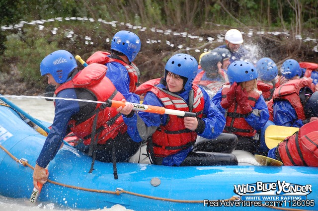Nothing like ending a trip with a water fight (#10 of 11) - Alberta's Best Rafting at Wild Blue Yonder