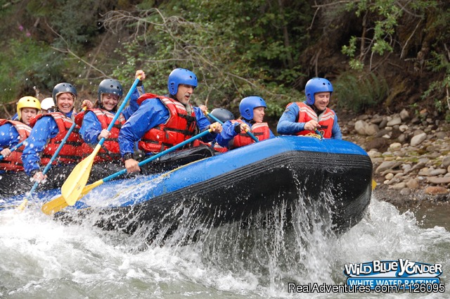3-2-1... Blast Off - Alberta's Best Rafting at Wild Blue Yonder