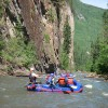 Family Rafting on the Sulphur