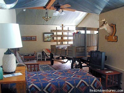 Rocky Mountain Room - Experience the West at K3 Guest Ranch B&B!