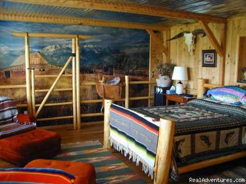Teton Room - Experience the West at K3 Guest Ranch B&B!