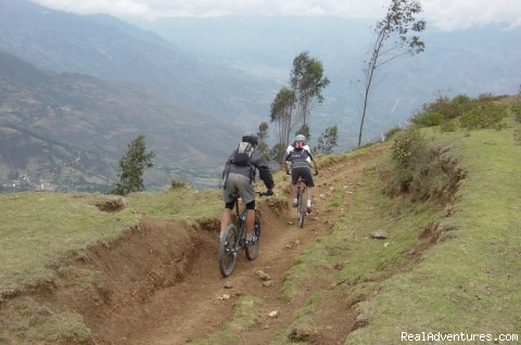 Mountain Bike on Inca Trails, a Lifetime Adventure: Another view of the Inca Trail