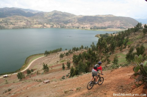 Amazing landscapes - Mountain Bike on Inca Trails, a Lifetime Adventure