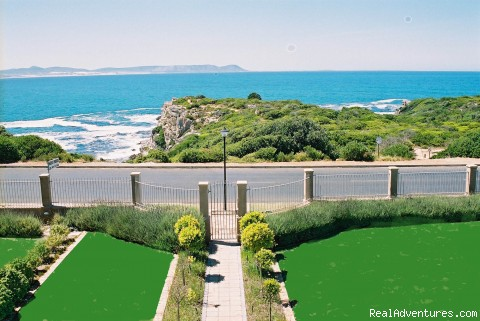 Sea views from your room - Seafront Hermanus  luxury accommodation