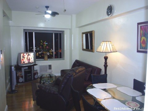 Deluxe Studio Apartment/makati, Philippines main room