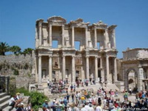 Ephesus tour - Backpackers Hostel in Kusadasi Turkey