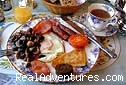 Traditional full Irish hearty Breakfast! - Interesting stay & The Old Cable Historic House