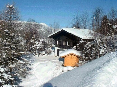 The chalet in winter - Ski and Summer Breaks in La Clusaz