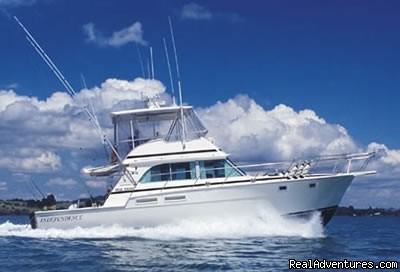 Sportsfishing Charter Boat New Zealand MV Independence