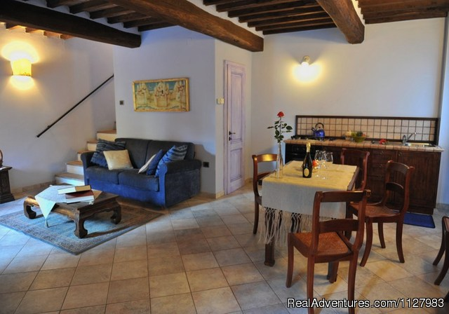 the apartment Guado (#6 of 8) - Tuscany 13th century villa selfcatering apartments