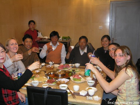 Sharing dinner with a Chinese Family - Cultural Education/ Volunteer Tours