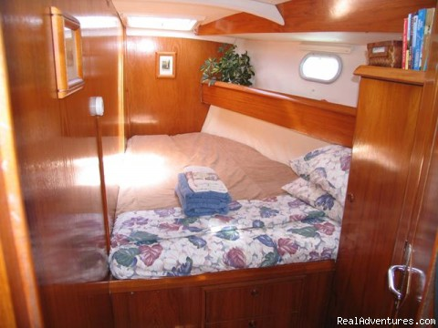1 of 3 Private Guest Staterooms - Caribbean Holidays Aboard Your Own Private Yacht!