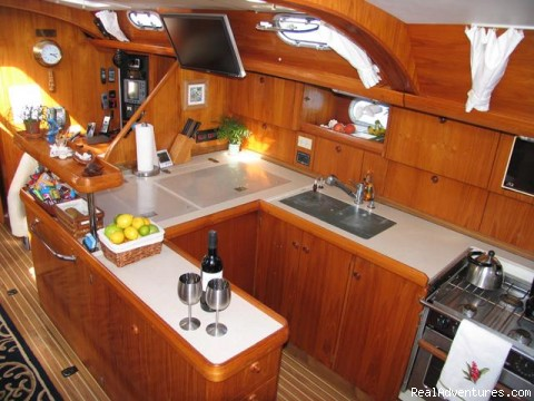 Gourmet Galley - Caribbean Holidays Aboard Your Own Private Yacht!