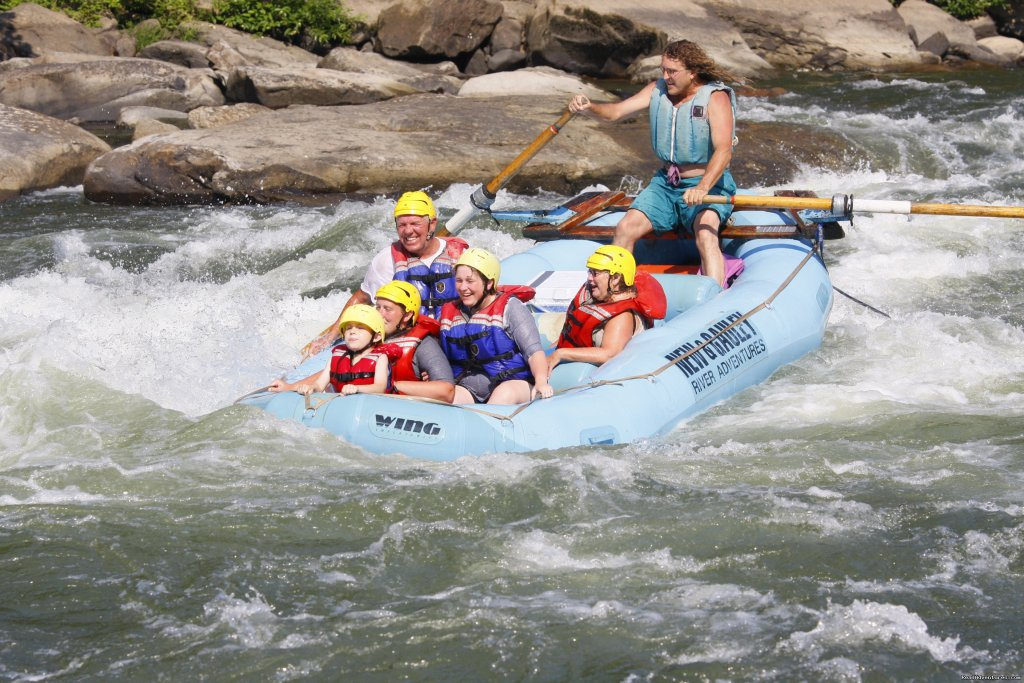 West Virginia whitewater rafting adventures on the New and Gauley rivers.We offer rafting from 1/2 day to 4 day, horseback trips, cabin rentals, camping and other family adventures!