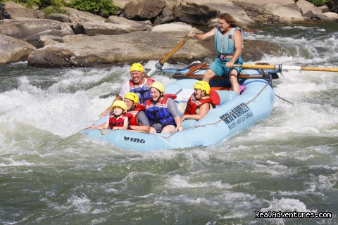 West Virginia Rafting New & Gauley Rivers