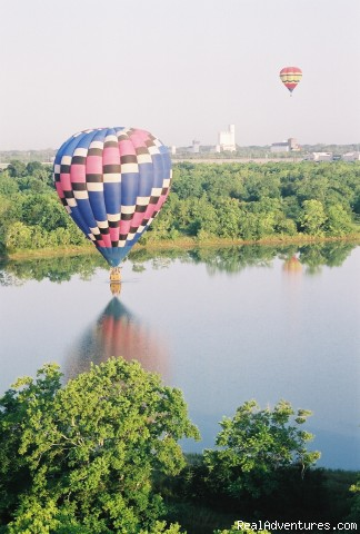 Hotair Ballooning with Air Texas Balloon Adventure
