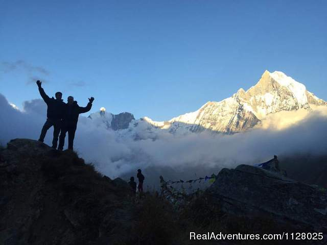 - Everest base camp trek