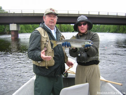 Fly Fish the World Famous Kennebec River - Spacious Lakefront Cabins on Moosehead Lake Maine