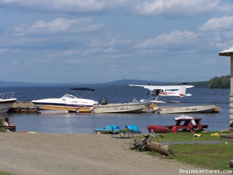 Boat Launch, Docks, Scenic Flights - Spacious Lakefront Cabins on Moosehead Lake Maine