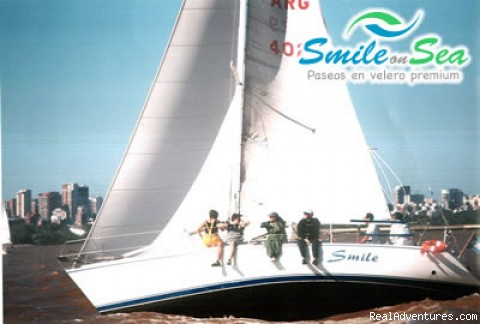 Sailing, an exciting experience - Romantic sailing at sunset in Buenos Aires