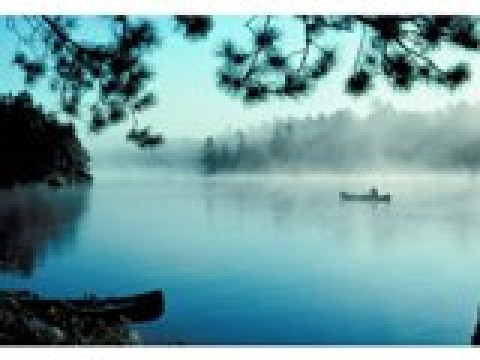 Misty Morning - Canoe trips into Boundary Waters & Quetico Park