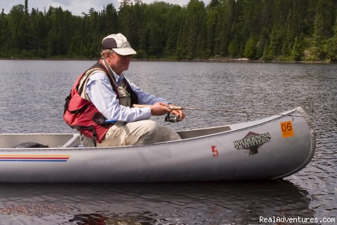 Wilderness Fishing - Canoe trips into Boundary Waters & Quetico Park