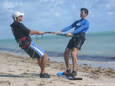 Stefan the head instructor - South Florida Kiteboarding School