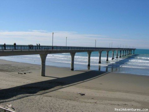 Pier New Brighton | Image #3/9 | Point Break Backpackers accommodation by the beach