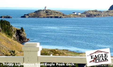 Newfoundland Vacation Homes Deck View, Eagle Peak, Trinity East