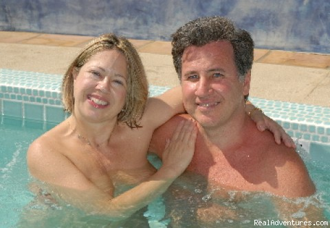 The owners of the Terra Cotta Inn - Romantic Palm Springs, CA Clothing Optional Resort