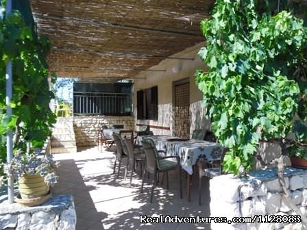Apartment A1(8+1), terase - Croatia, Apartments VUKUSIC in Sevid