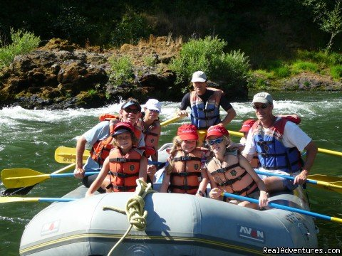 Paddle Boat on the Rogue River