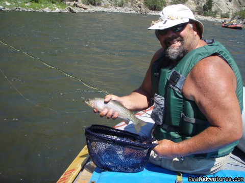 Fly-Fishing on the Middle Fork of the Salmon - Oregon and Idaho River Rafting - ECHO River Trips
