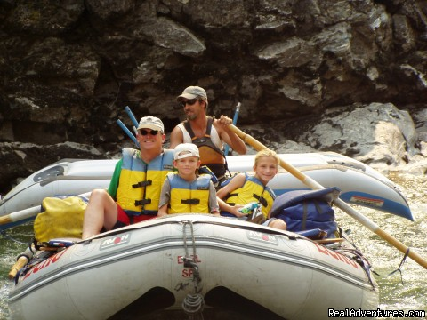 Family on the Middle Fork of the Salmon