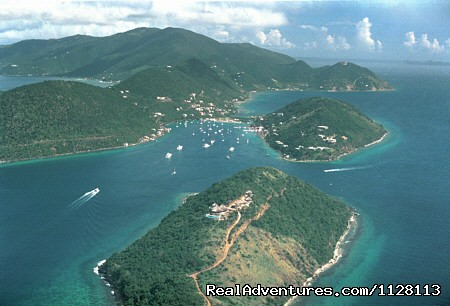 Sopers Hole, Tortola is a very laid back and friendly port - BVI Cruise & Learn - Learn to Sail in Paradise