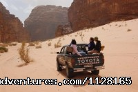 4x4 Desert safari trips -Wadi Rum  - Create your own private tailor-made tour of Jordan