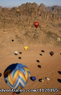 Hot air balloon -Wadi Rum  - Create your own private tailor-made tour of Jordan