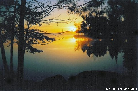 Morning sunrise - Boundary Waters Canoe Trips and Ely, MN Vacations