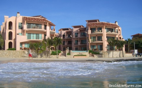 The lower right condo is Villa C1 (#1 of 16) - True Beachfront Luxury Condo