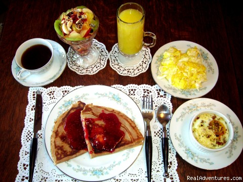 Breakfast #5 - Romantic Getaways At  Alla's Historical B & B