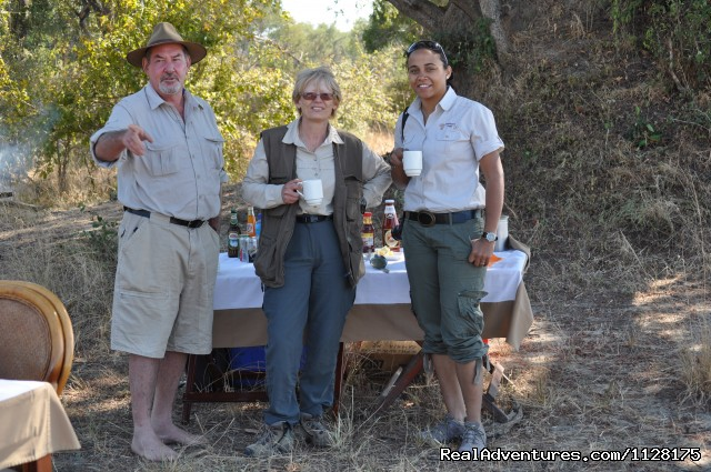 Bush Breakfast - Ultimate Safari experience at Mushroom Lodge