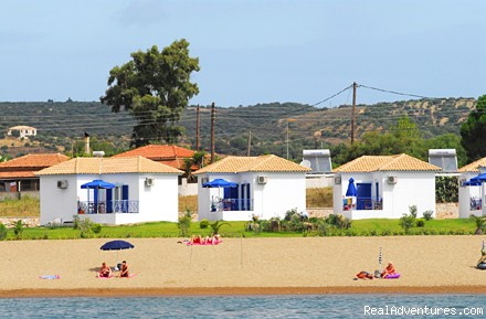Self catering beach houses in Finikounda Greece