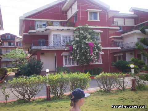 top floor 2 bed flat - Idyllic Beaches In South Goa
