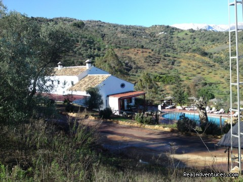 Our complex from the hill - Rural Houses & Apartments near Marbella & Ronda